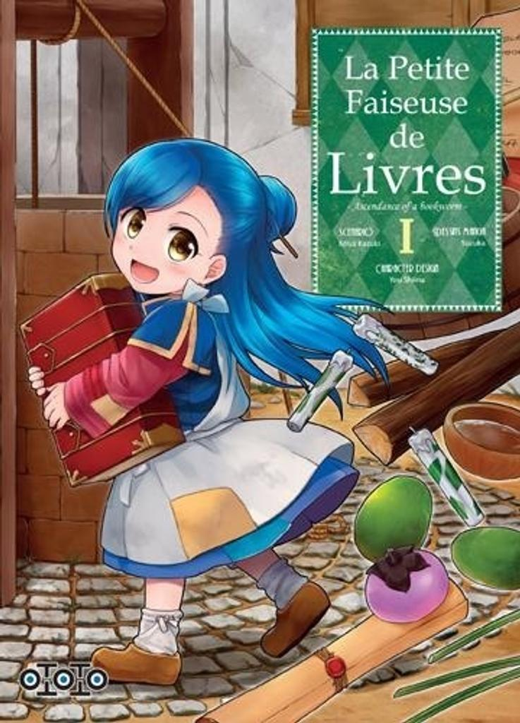 La petite faiseuse de livres : ascendance of a bookworm. 1 / scénario, Miya Kazuki | Kazuki, Miya. Auteur